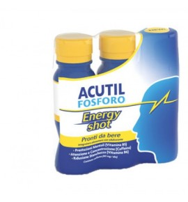 ACUTIL FOSFORO ENERGY SHOT 3 FLACONCINI 60 ML