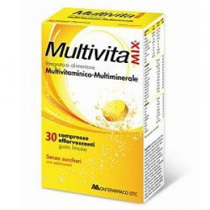 MULTIVITAMIX INTEGRATORE 30 COMPRESSE EFFERVESCENTI
