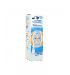 ACTIFED DECONGESTIONANTE 1MG/ML SPRAY NASALE 10ML