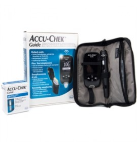 ACCU-CHEK GUIDE KIT MISURATORE GLICEMIA CON SISTEMA WIRELESS