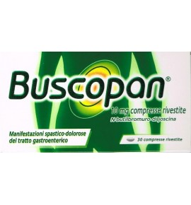 BUSCOPAN 30 COMPRESSE RIVESTITE 10 MG