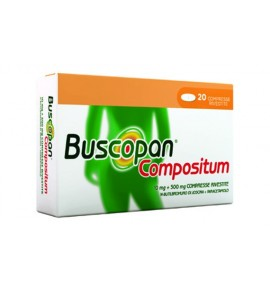 BUSCOPAN COMPOSITUM 10 MG + 500 MG COMPRESSE RIVESTITE 20 COMPRESSE IN BLISTER AL/PVC