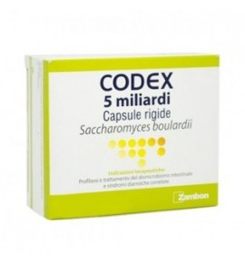 CODEX*12CPS 5 MLD 250MG