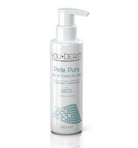 YOU DERM PELLE PURA GEL DETERGENTE VISO 200 ML