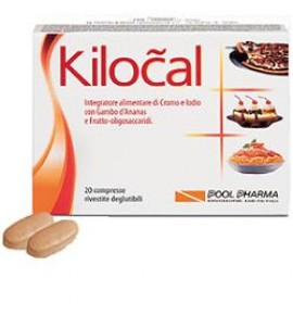 POOLPHARMA KILOCAL INTEGRATORE ALIMENTARE 20 COMPRESSE