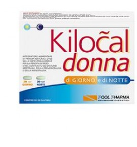 POOLPHARMA KILOCAL DONNA 40CPR