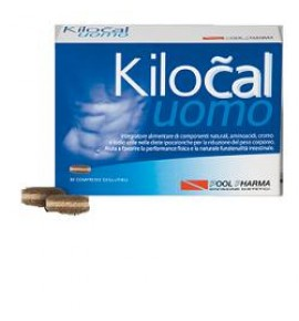 POOLPHARMA KILOCAL UOMO 30CPR