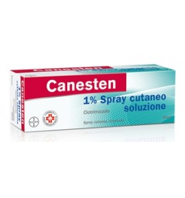 BAYER CANESTEN 1% SPRAY CUTANEO 40 ML
