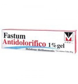 FASTUM ANTIDOLOR*GEL 50G 1%