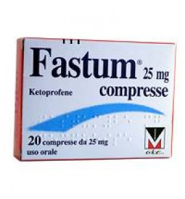 FASTUM*20CPR 25MG