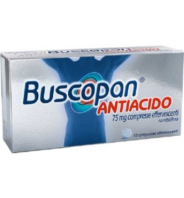 BUSCOPAN ANTIACIDO 10 COMPRESSE EFFERVESCENTI 75 MG