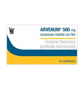 ARVENUM 60CPR RIV 500MG