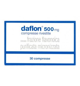 DAFLON 30 COMPRESSE RIVESTITE 500 MG