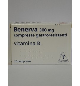 BENERVA*20CPR 300MG
